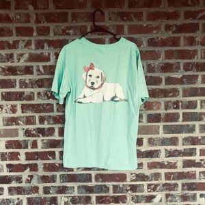 Southern cross comfort colors tee
